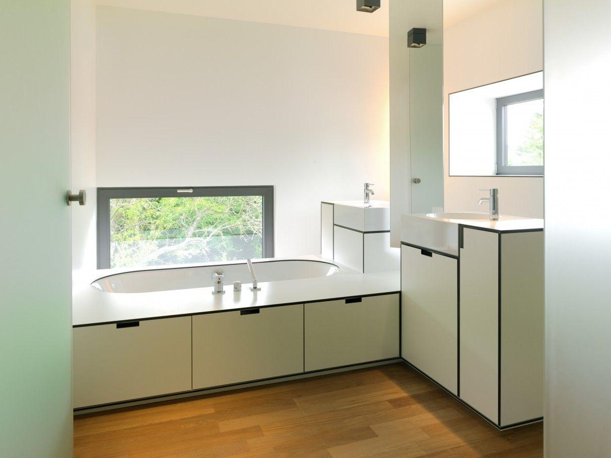 cabinets made from trespa panels | Badkamer | Pinterest | Shelving ...