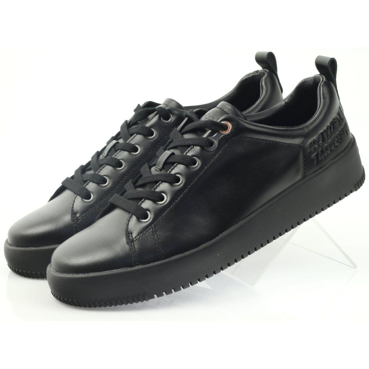 4eb991ee #Sportowe #Męskie #CalvinKleinJeans #Czarne #Calvin #Klein #Jeans #Gaetan