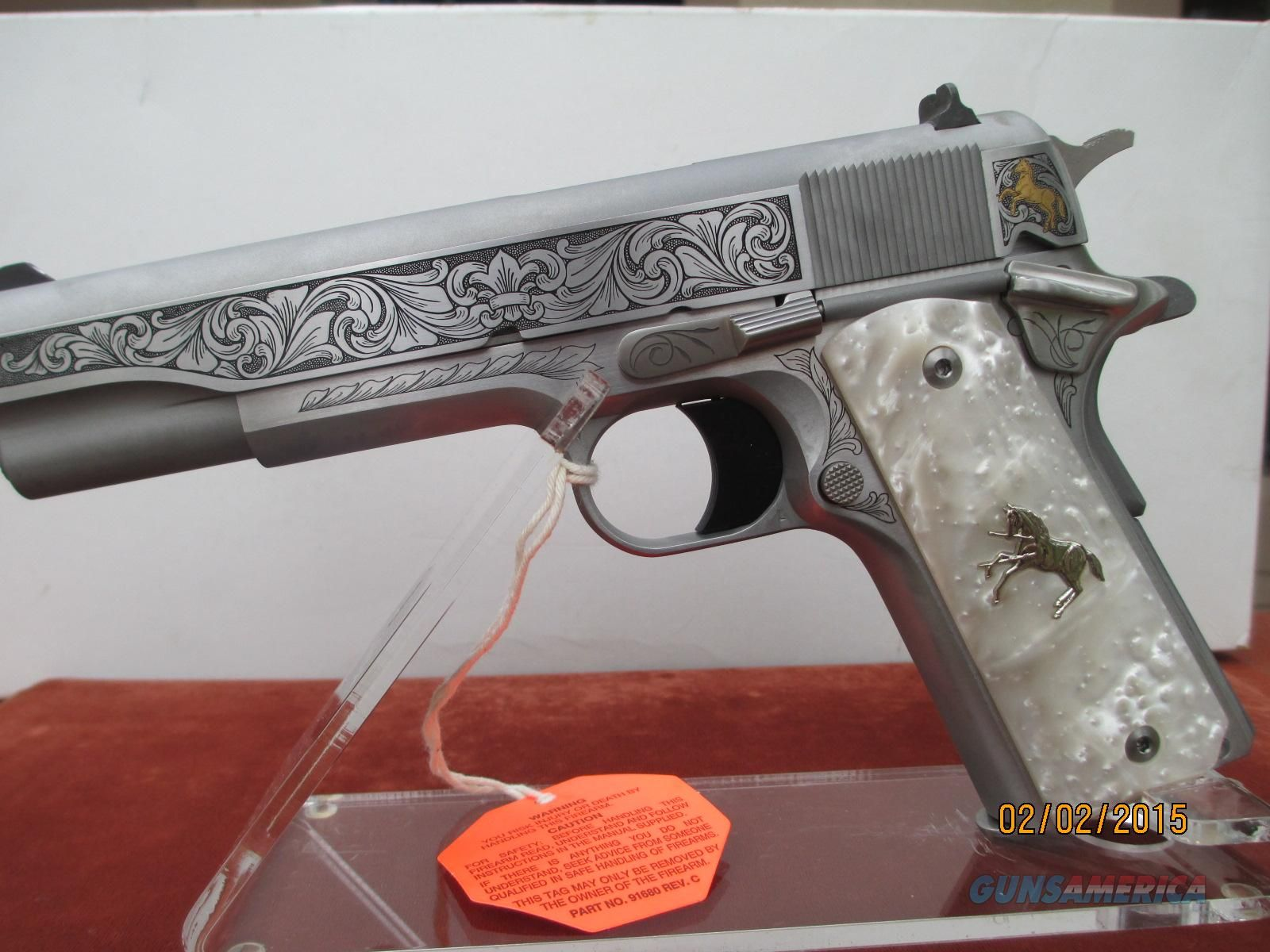 COLT/TALO LIMITED EDITION BRIAN POWLEY ONE OF 300 IN 38 SUPER Guns ...
