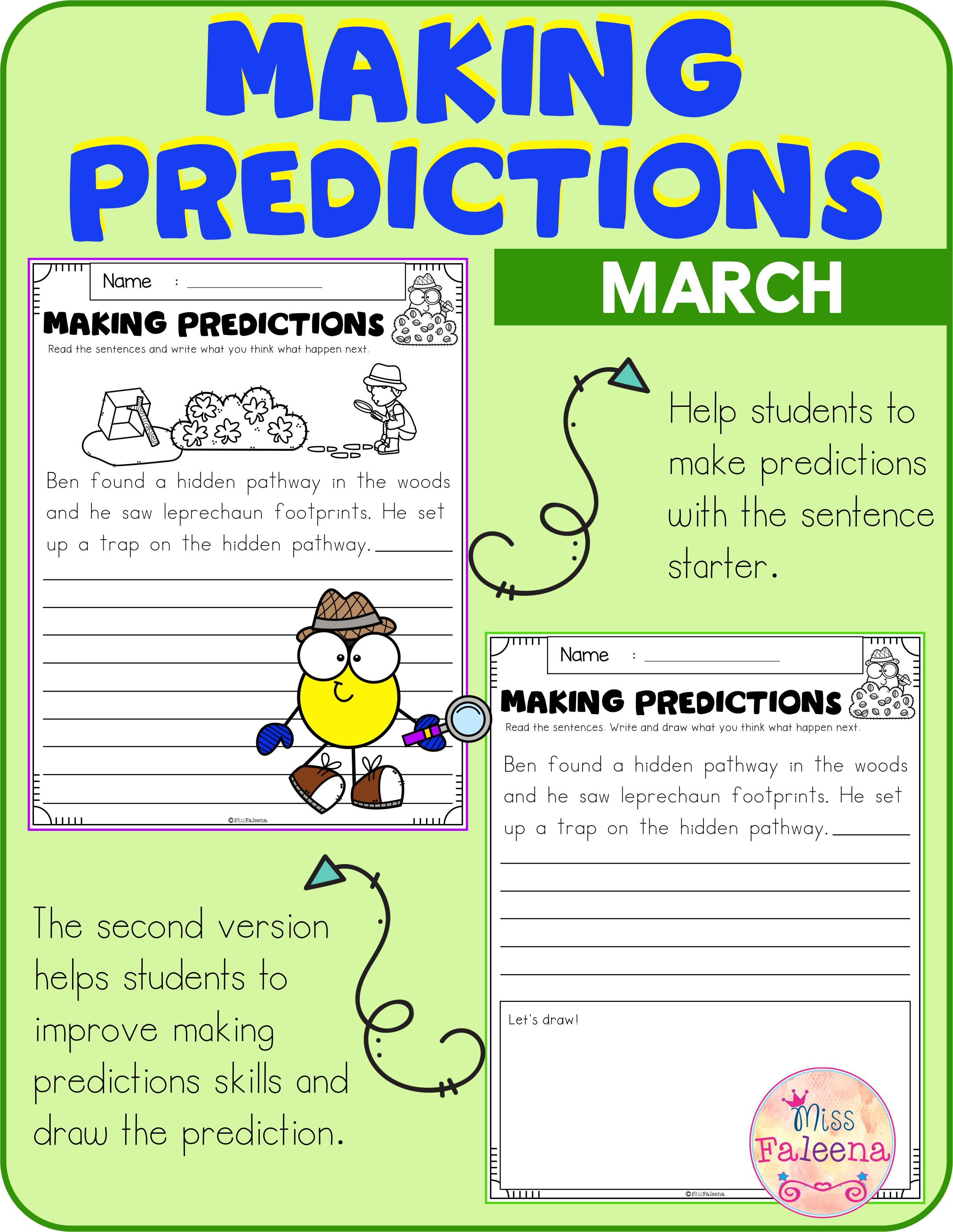 March Making Predictions