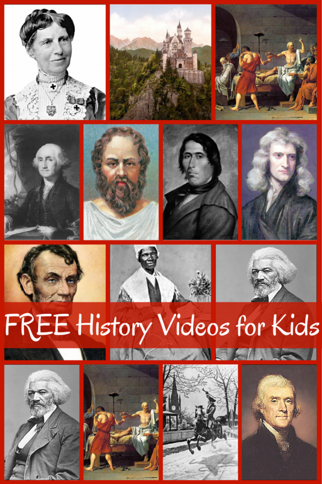 Photo of Huge list of FREE History Videos for Kids – Homeschool Giveaways