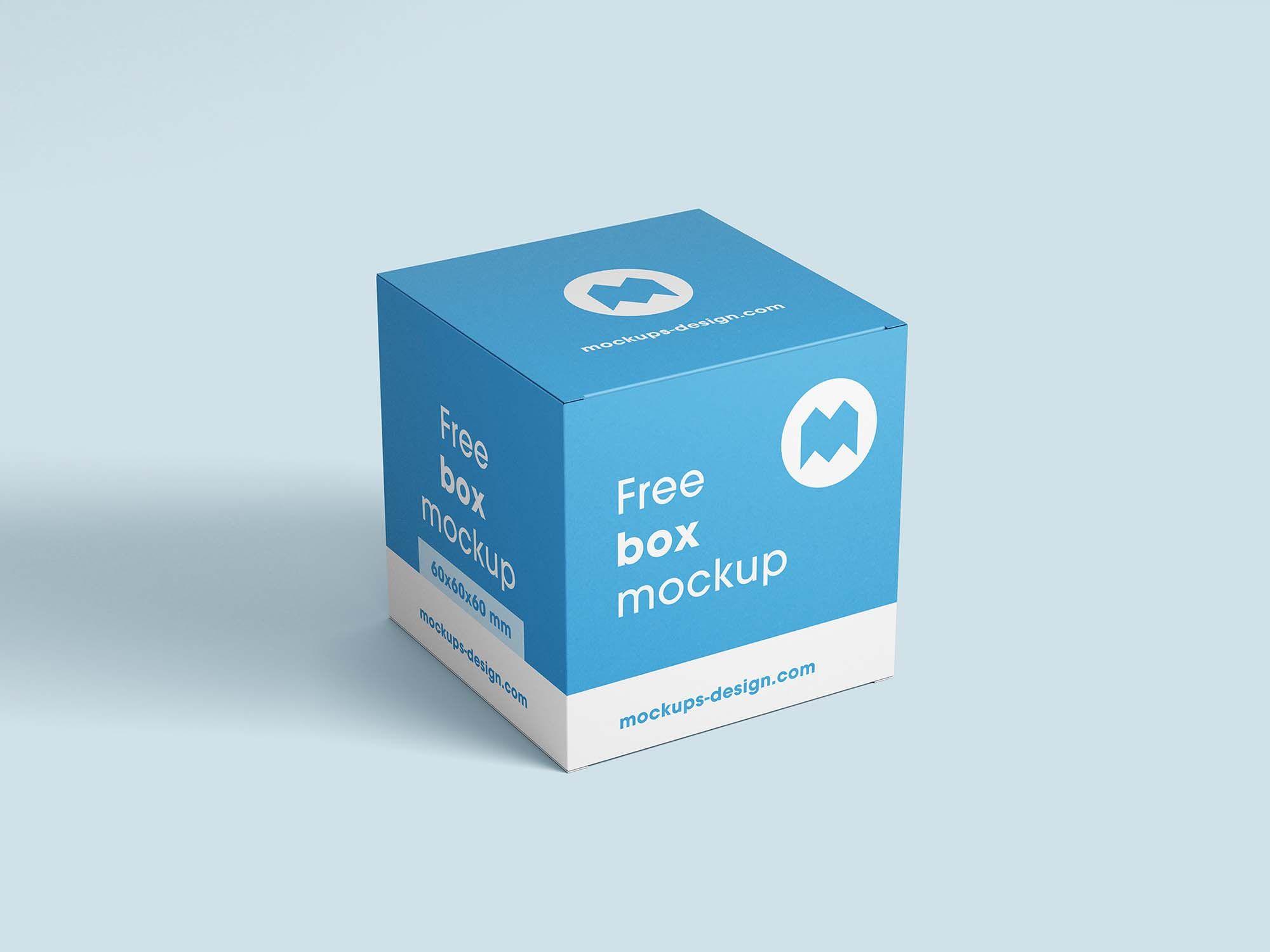 Download Free Square Boxes Mockup Psd Box Mockup Mockup Psd Mockup