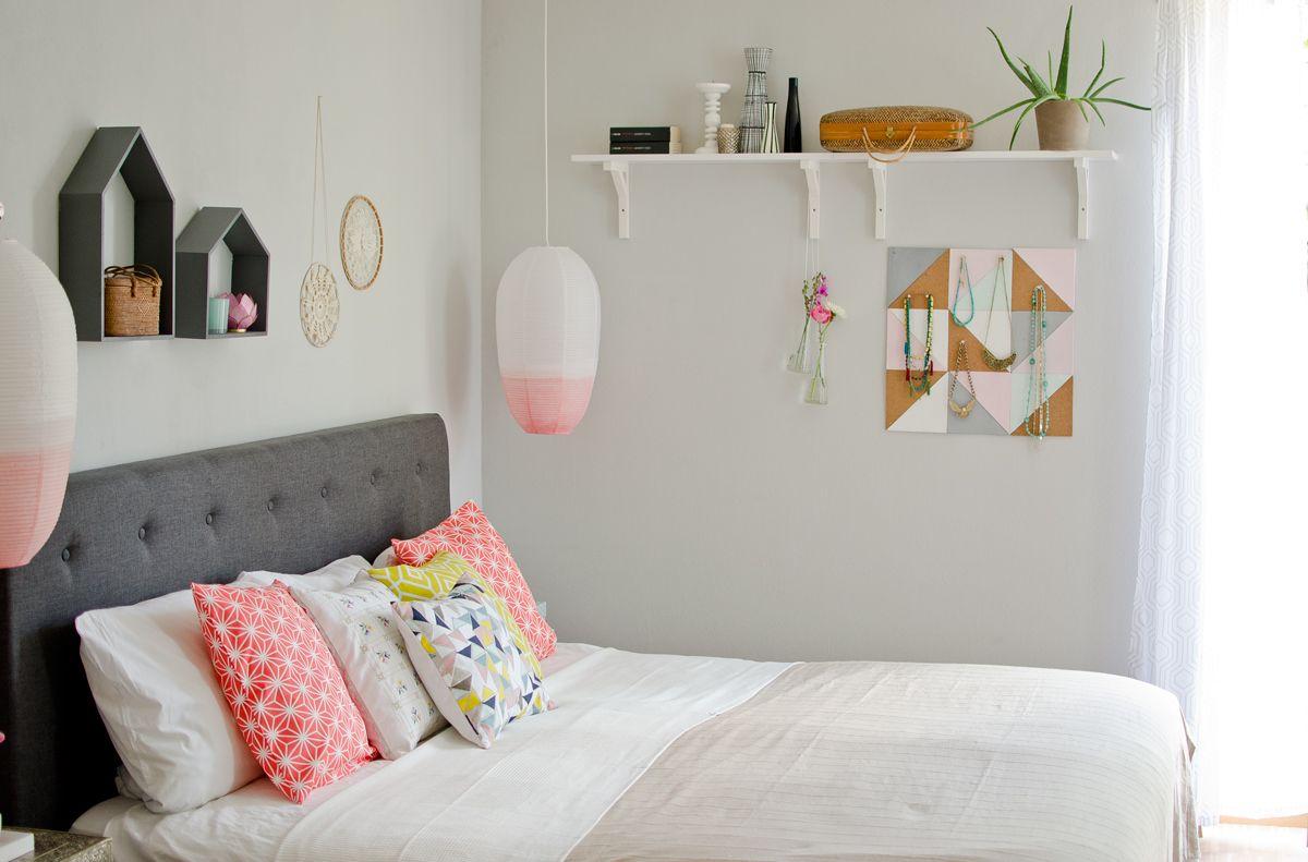 Sommer im Schlafzimmer Pastell zimmer, Einrichtungsideen