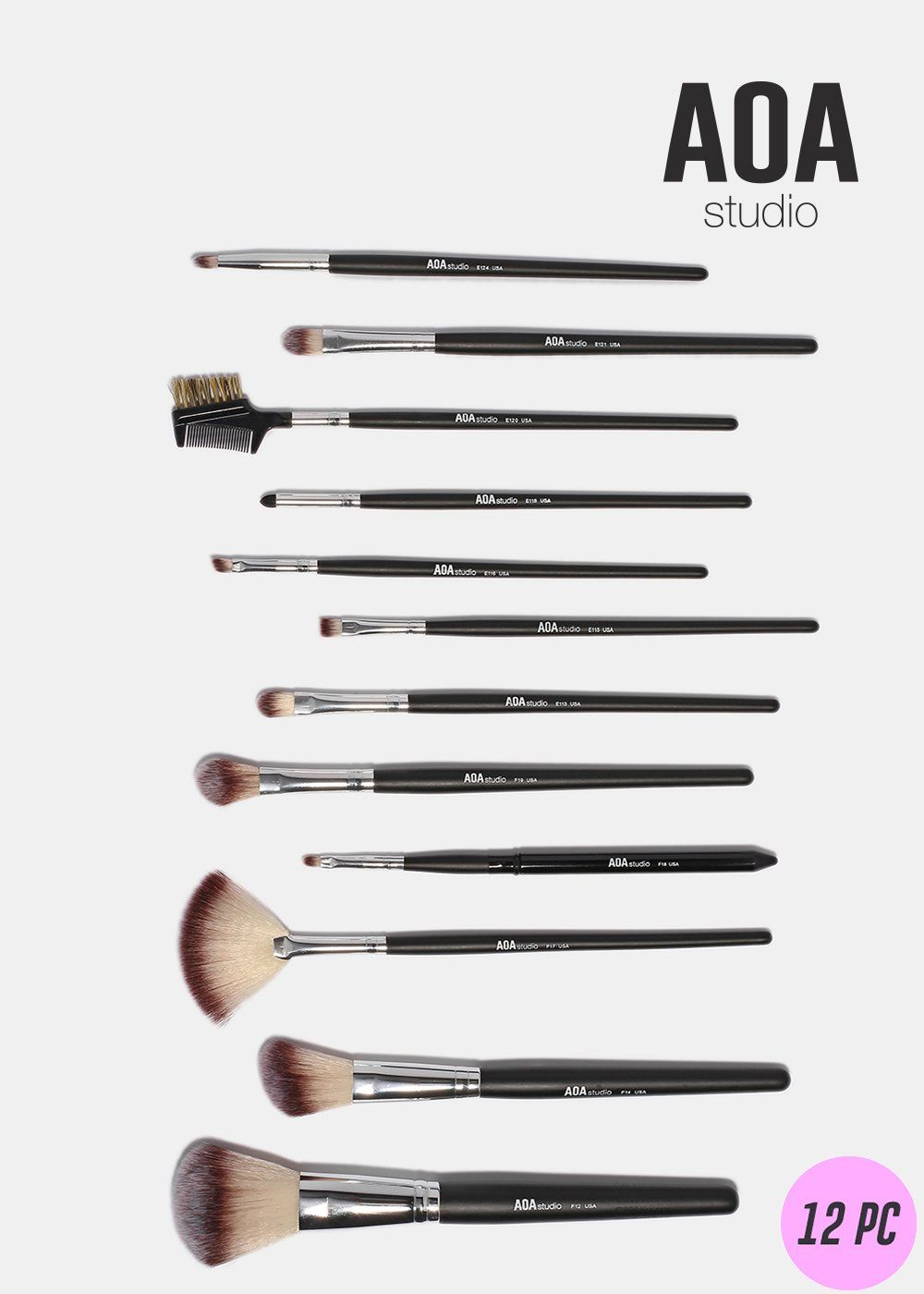 12-Piece PM Brush Set by AOA Studio #6
