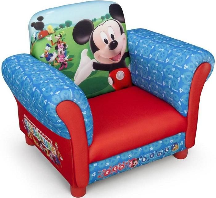 Muebles para ni os sill n para ni os mickey mouse for Muebles disney