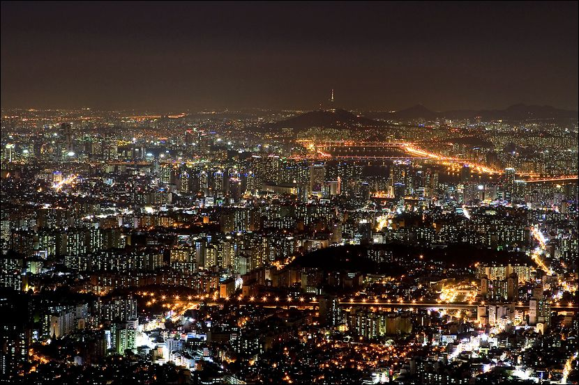 Pin by Lina Reita on South Korea - The Land of Morning Calm - best of world map at night korean