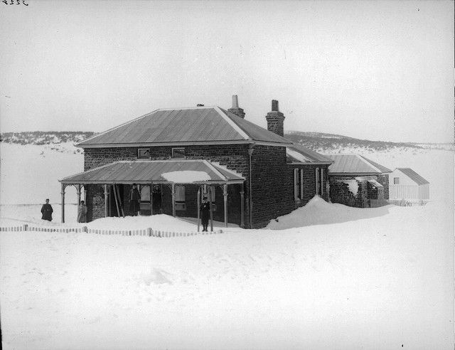 Kiandra Police Station, NSW   Australian ski history   House styles
