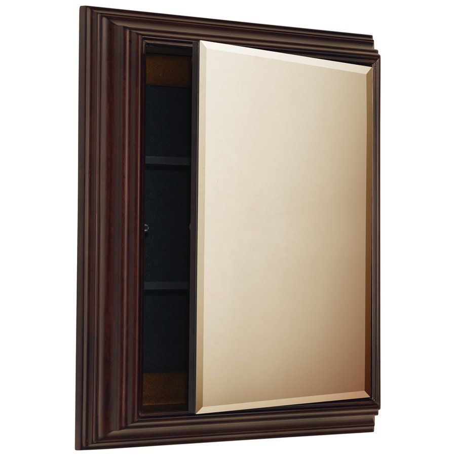 Superb ESTATE By RSI 55824 22.5 In X 27.5 In Java Particleboard Surface Mount Medicine  Cabinet | Loweu0027s Canada $169
