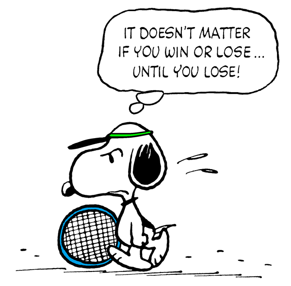 Snoopy Losing A Tennis Match Tennis Funny Tennis Drawing Tennis Quotes