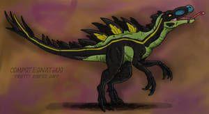 Jurassic Park Chaos Effect: Compstegnathus by Fnafnir #jurassicparkworld