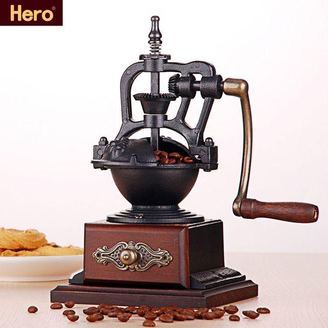 Heroe Molino De Cafe Para El Hogar Xs 5 Amoladora De La Mano De