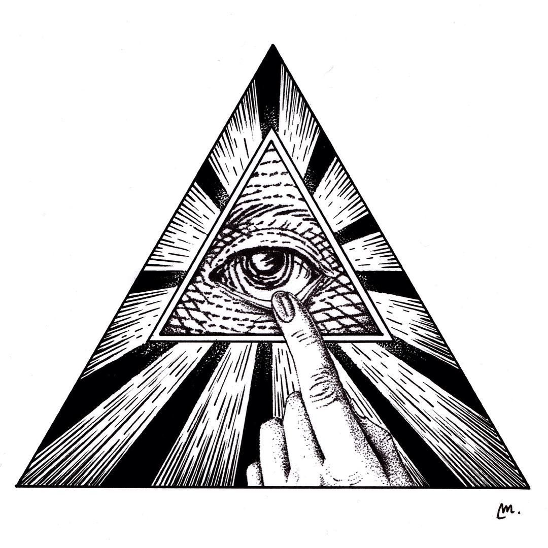 All Seeing Eye Designed By Tattoo Design Available