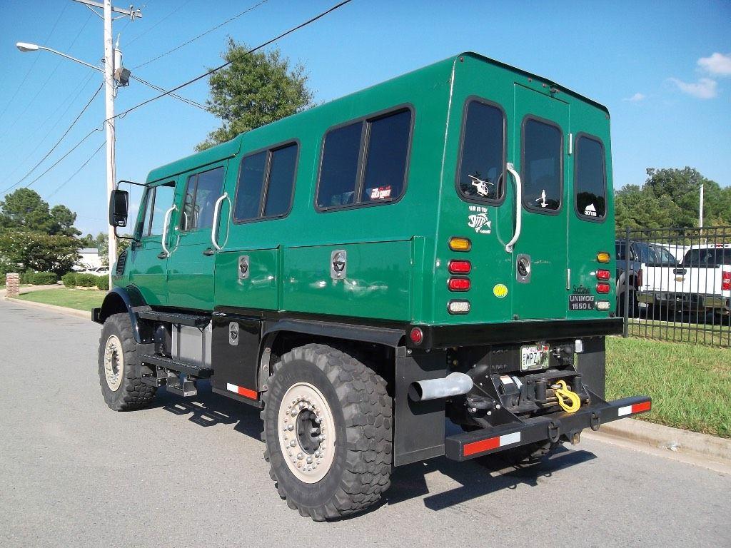 Mercedes Benz Unimog U1550 Crew Cab 4x4 1991 Coach Unimog Diesel Trucks Diesel Trucks Duramax