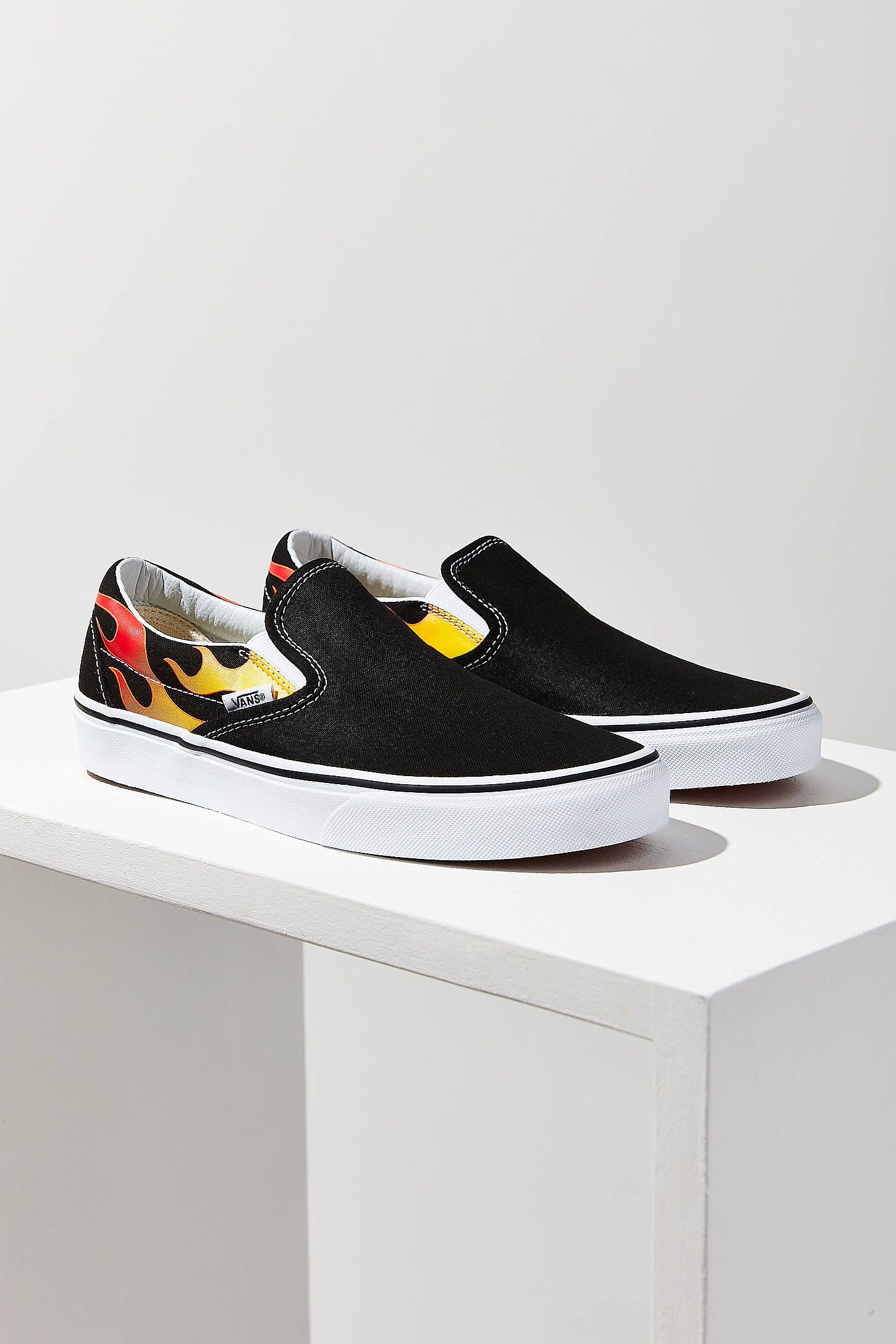 Slide View  1  Vans Flame Classic Slip-On Sneaker  c7445a1e7