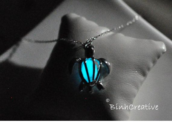 Glowing Necklace,silver Plated Sea Turtle Necklace,glow Necklace,glow in the Dark Necklace,glow in the Dark Jewelry,glow Jewelry Glowing Necklace,silver Plated Sea Turtle Necklace,glow Necklace,glow in the Dark Necklace,glow in the Dark Jewelry,glow Jewelr