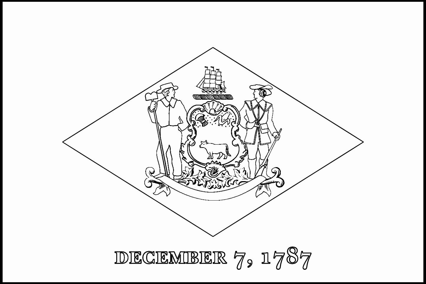 49++ New hampshire state flag coloring page info