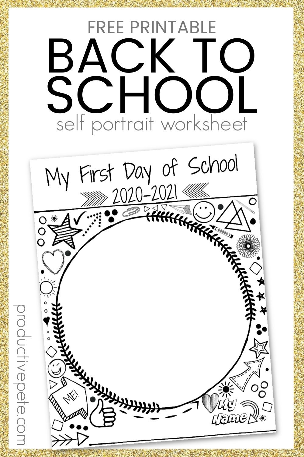Back To School Worksheet For The First Day Of School 2020 2021 School Worksheets First Day Of School Back To School Worksheets [ 1500 x 1000 Pixel ]