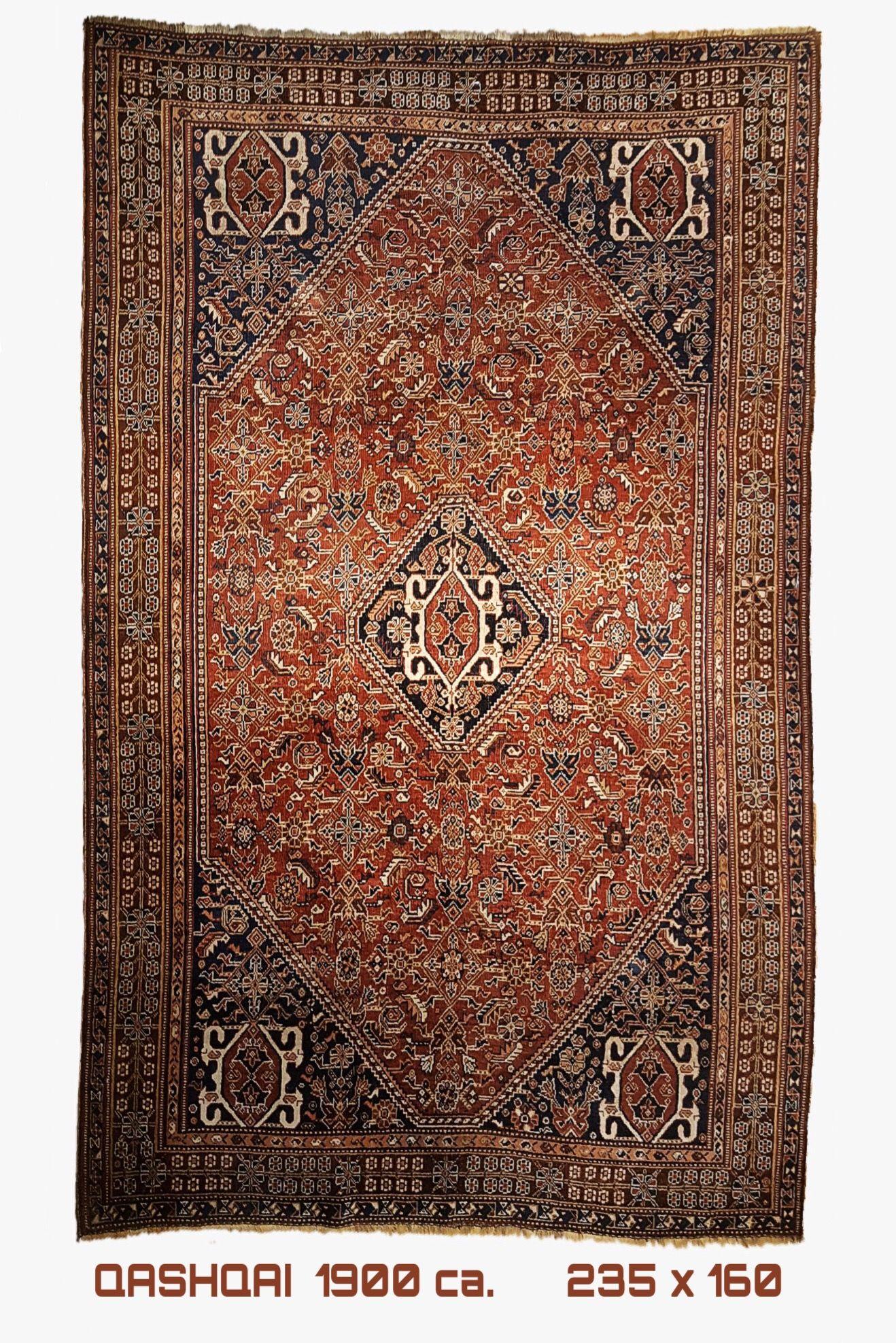 QASHQAI Antique carpet 1900 ca. 235x160 (con immagini)