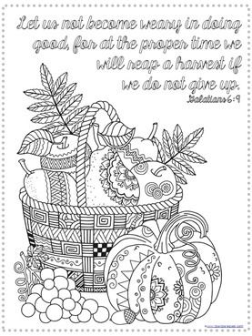 thanksgiving bible verse coloring pages 1111 - Bible Verse Coloring Pages