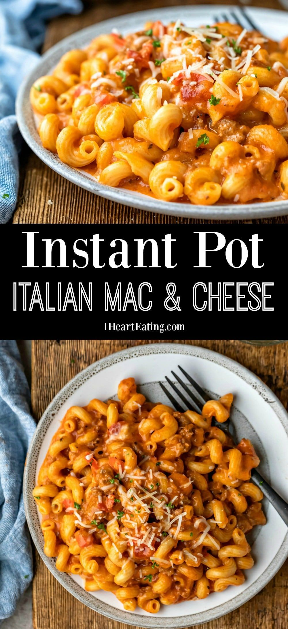 Instant Pot Italian Mac and Cheese | Recipe | Instant pot ...