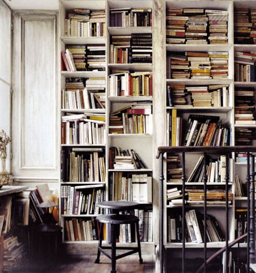 messy libraries are the best libraries.