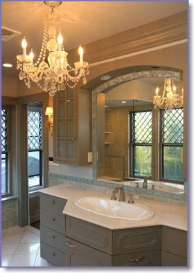 Bathroom vanity lighting tips Ideas Design Tip Chandeliers Are Quite Traditional Choice For Lighting But Avoid Only Choosing Overhead Lighting For Your Vanity As Its Bound To Cast Pinterest Bathroom Vanity Lighting Tips And Ideas Lightingdesign Ideas