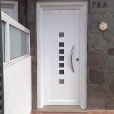 Resultado de imagen para fotos de puertas de entrada - Puertas blancas exterior ...