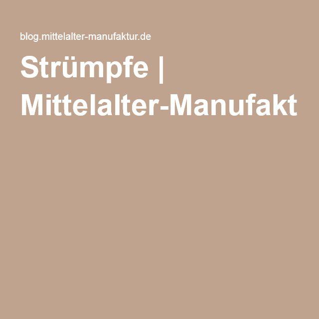 Strümpfe   Mittelalter-Manufaktur-Blog