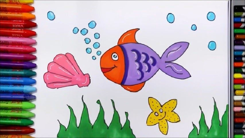 Terbaru 30 Gambar Kartun Ikan Di Kolam Menggambar Ikan Laut Belajar Gambar Dan Mewarnai Download Tema Papan Ketik Ikan Koi Seni Mural Gambar Kartun Gambar