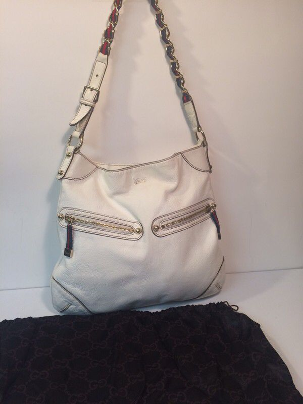d7cefc9c1 My Gucci Capri Ranch Kid Leather Shoulder Bag by Gucci! Size for $$395.00.
