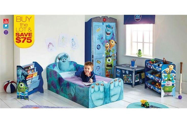 Monsters Inc Bedroom Decor