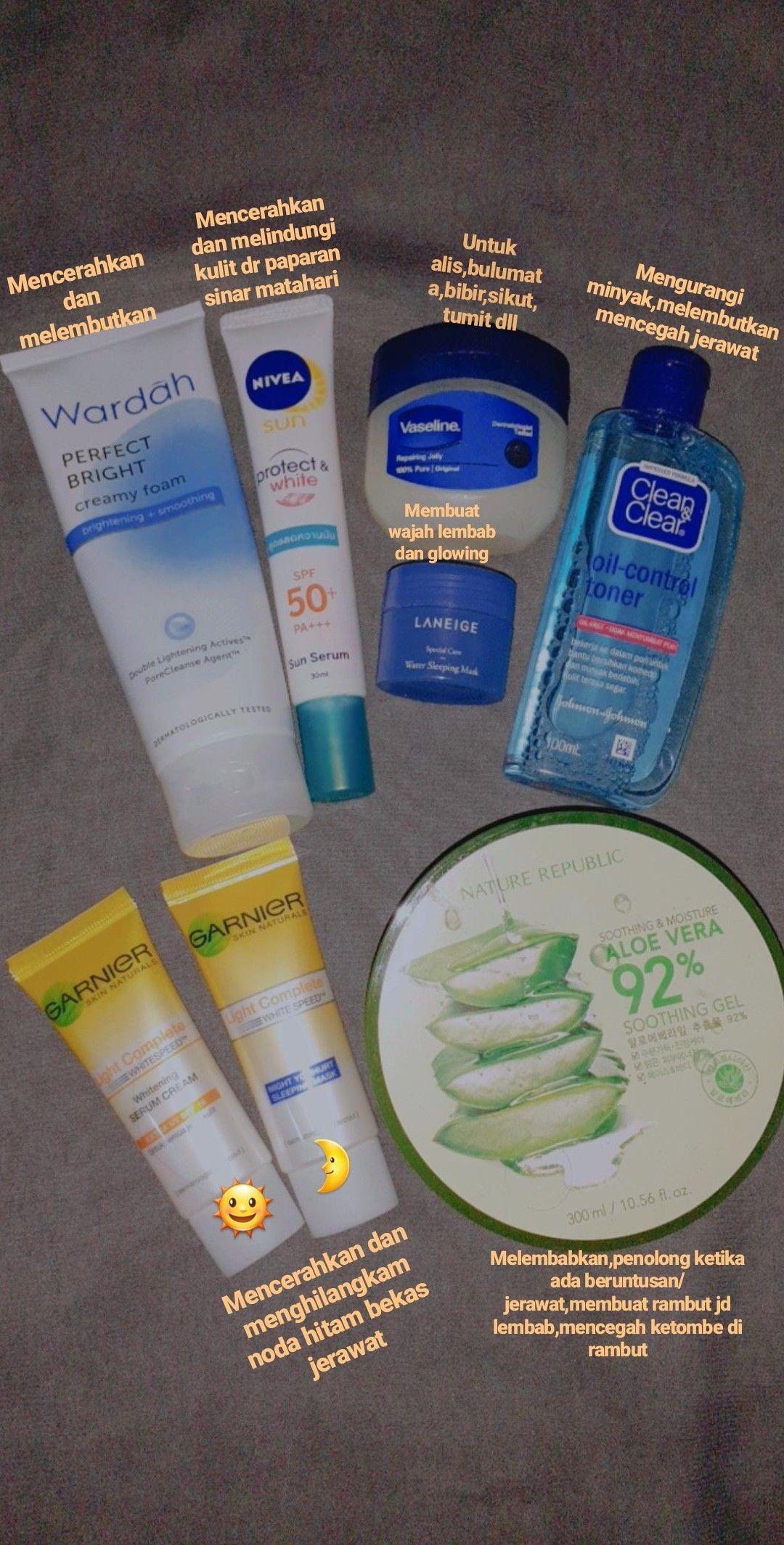 Skincare Yang Cocok Untuk Kulit Berminyak Berjerawat