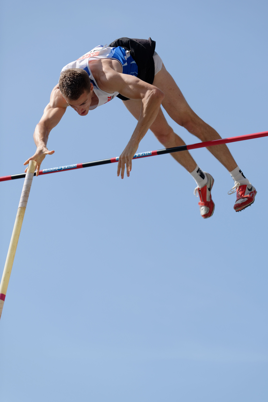 Pole Vault Pole Vault Triple Jump Athletics Track