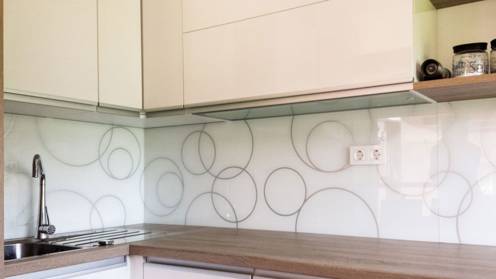 kuhinjska stekla motivi - Iskanje Google kuhinja Pinterest - küchenspiegel selber machen