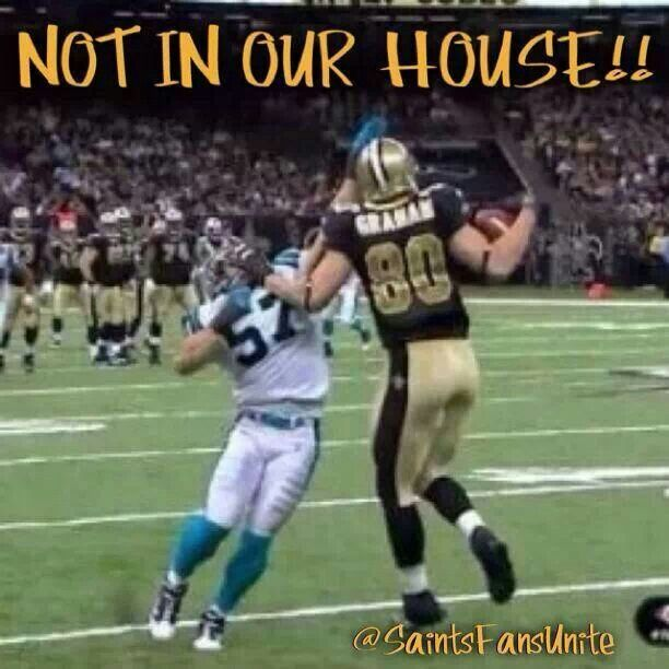 Not In Our House New Orleans Saints Football New Orleans Saints Saints Football
