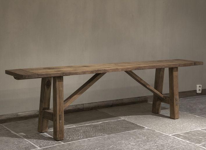 Slaapkamer Bank Maken : Oud houten bankje woonland furniture i like pinterest bench