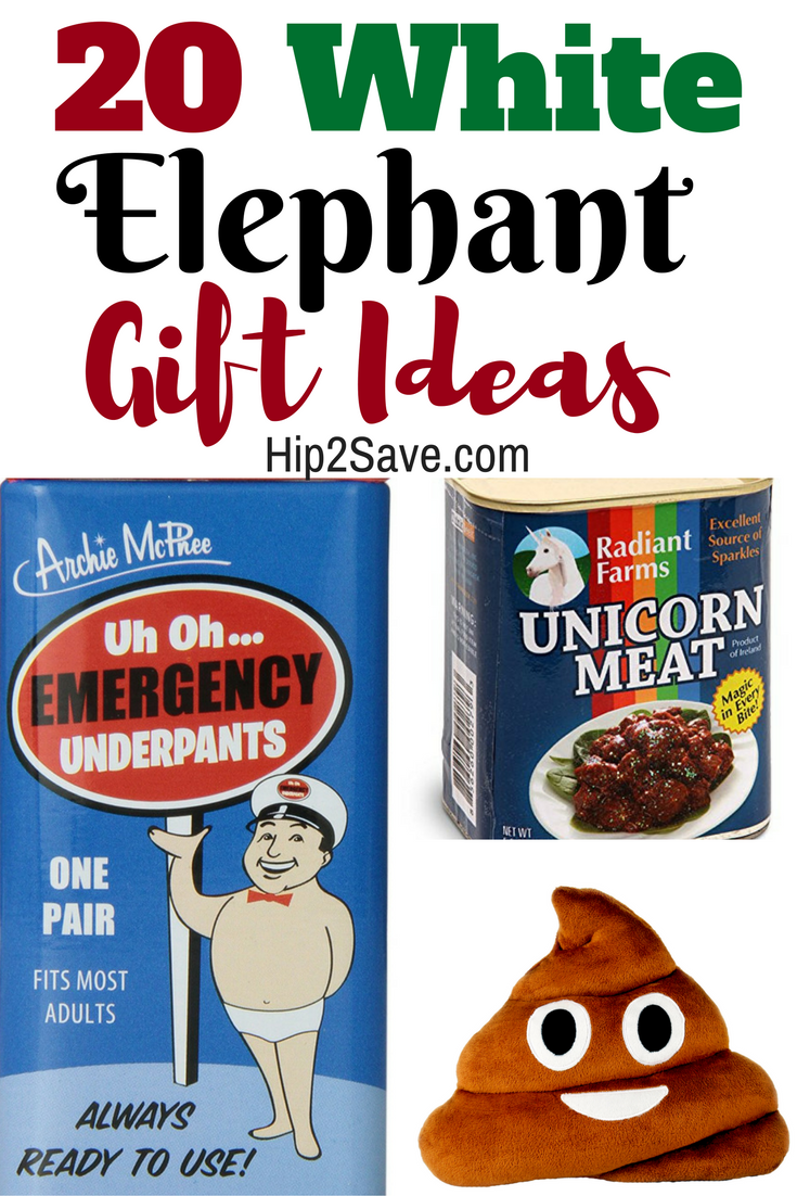 20 Of The BEST White Elephant Gift Ideas | Ivory white elephant ...