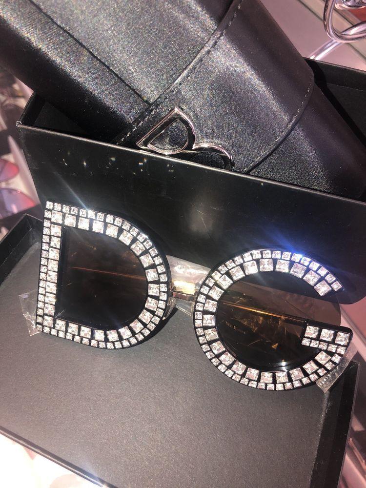 05dbd204e05 Diamond D And G Round Sunglasses Women 2018 New Luxury Brand Design  Oversized DG designer fashion