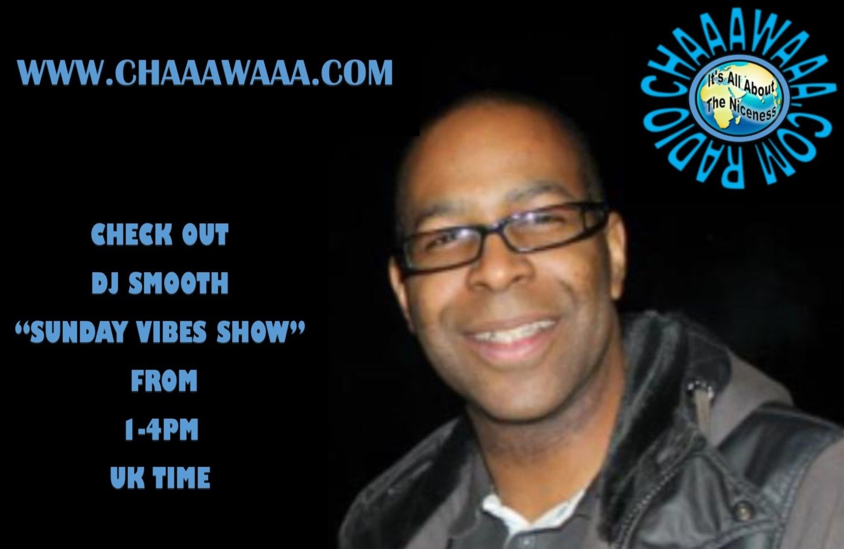DJ Smooth on every Sunday from 1-4pm