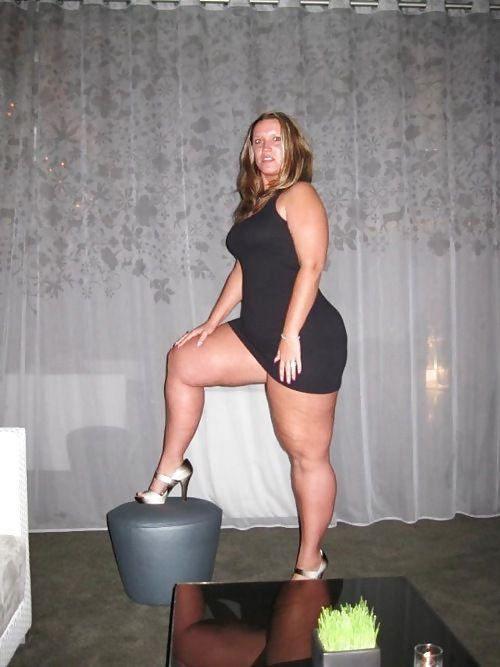 bbw Tall chubby