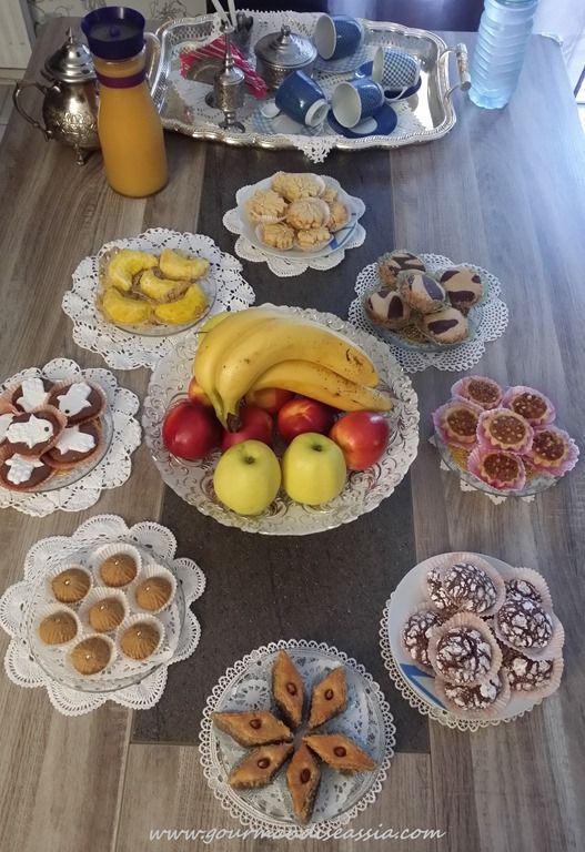Aid Moubarak 2015 Gourmandiseassia Eid Cake Dinner Decoration Food Decoration