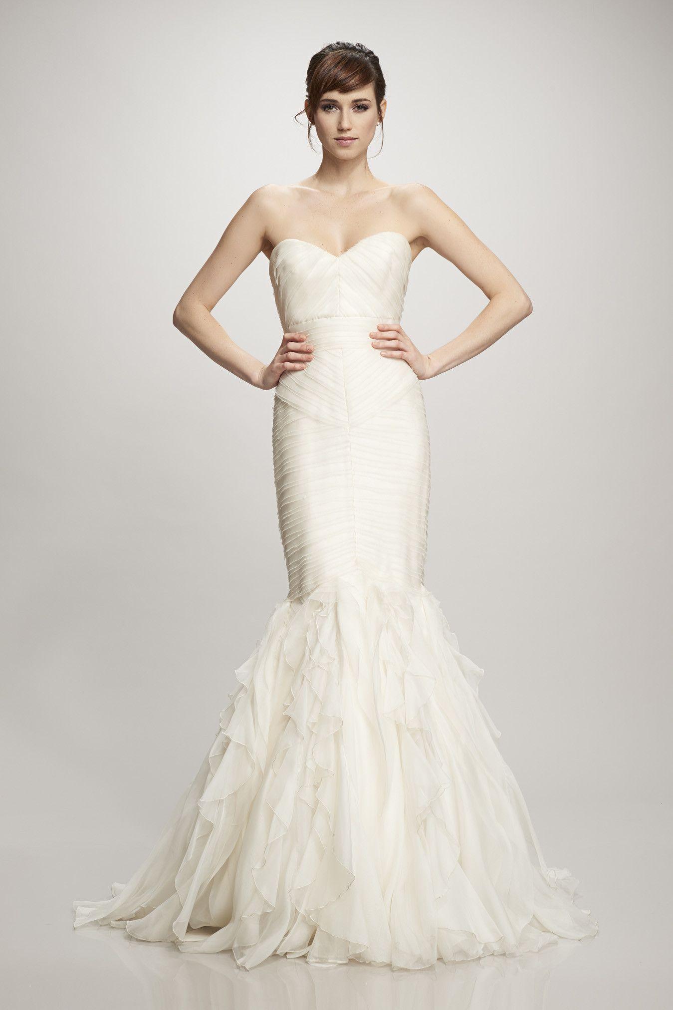 Theia 890106 Size 0 | Bridal Fair Runway Show | Pinterest | Silk ...