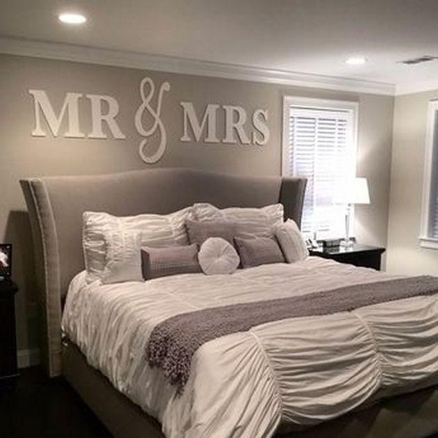 Delightful Grey Upholstered Bed Decor Color Schemes | Grey Upholstered Bed, Gray And  Awesome Bedrooms Nice Design