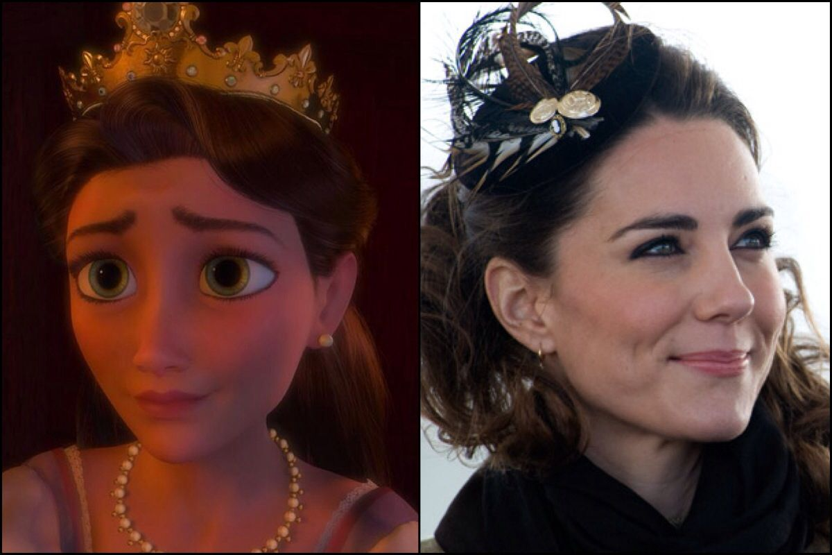 Guys. I've started something. And I can't stop.  Rapunzel's mother and Kate Middleton.