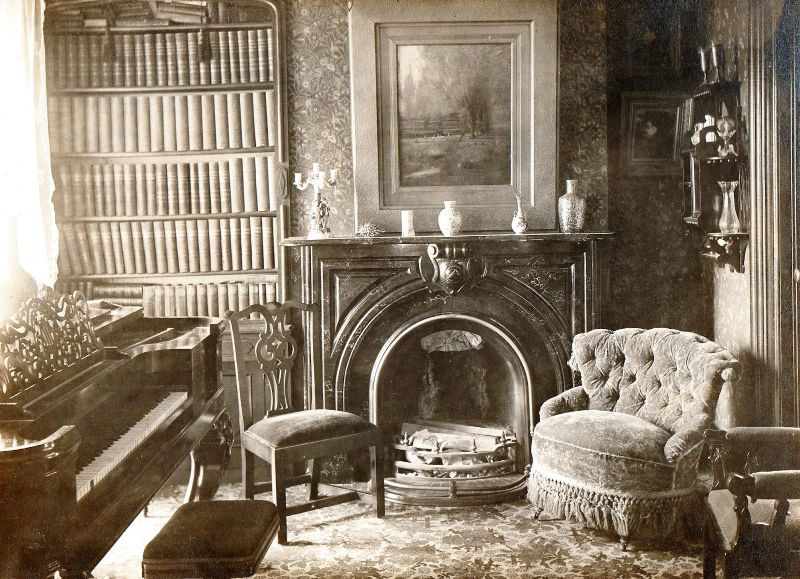 Inside Victorian Era Homes House Interior