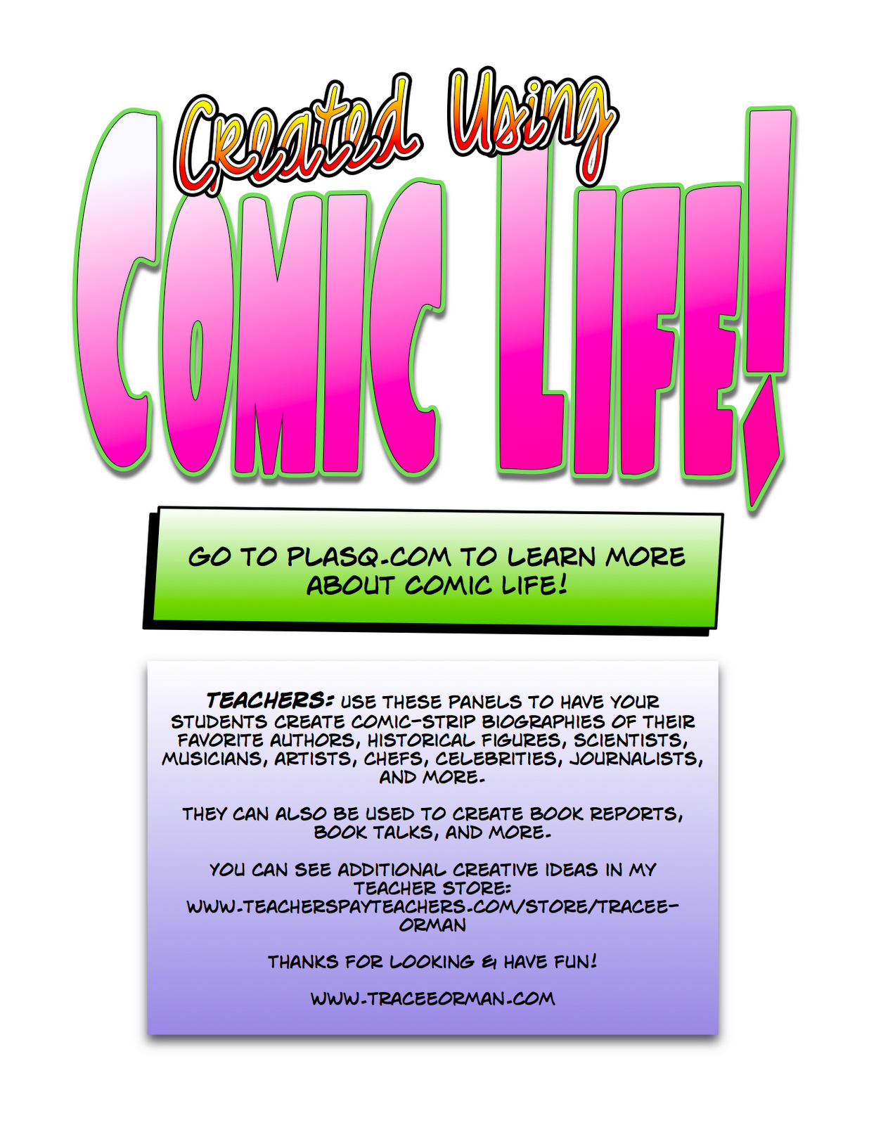 Mrs. Orman's Classroom: Offering Choices for your Readers: Comic-Book Craze!