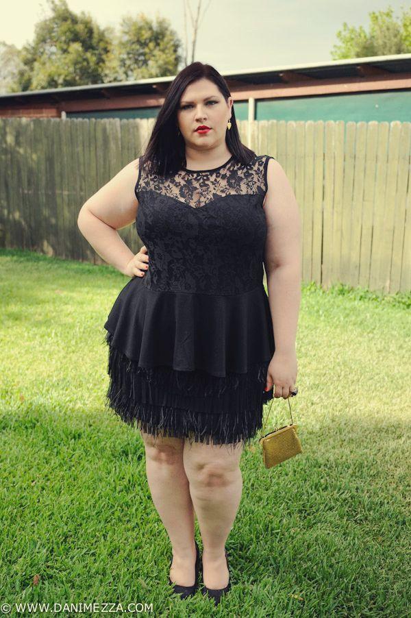 d7598ffda812 Aussie Curves Plus Size Fashion Outfit Curvy Woman FEATHERS-1 ...
