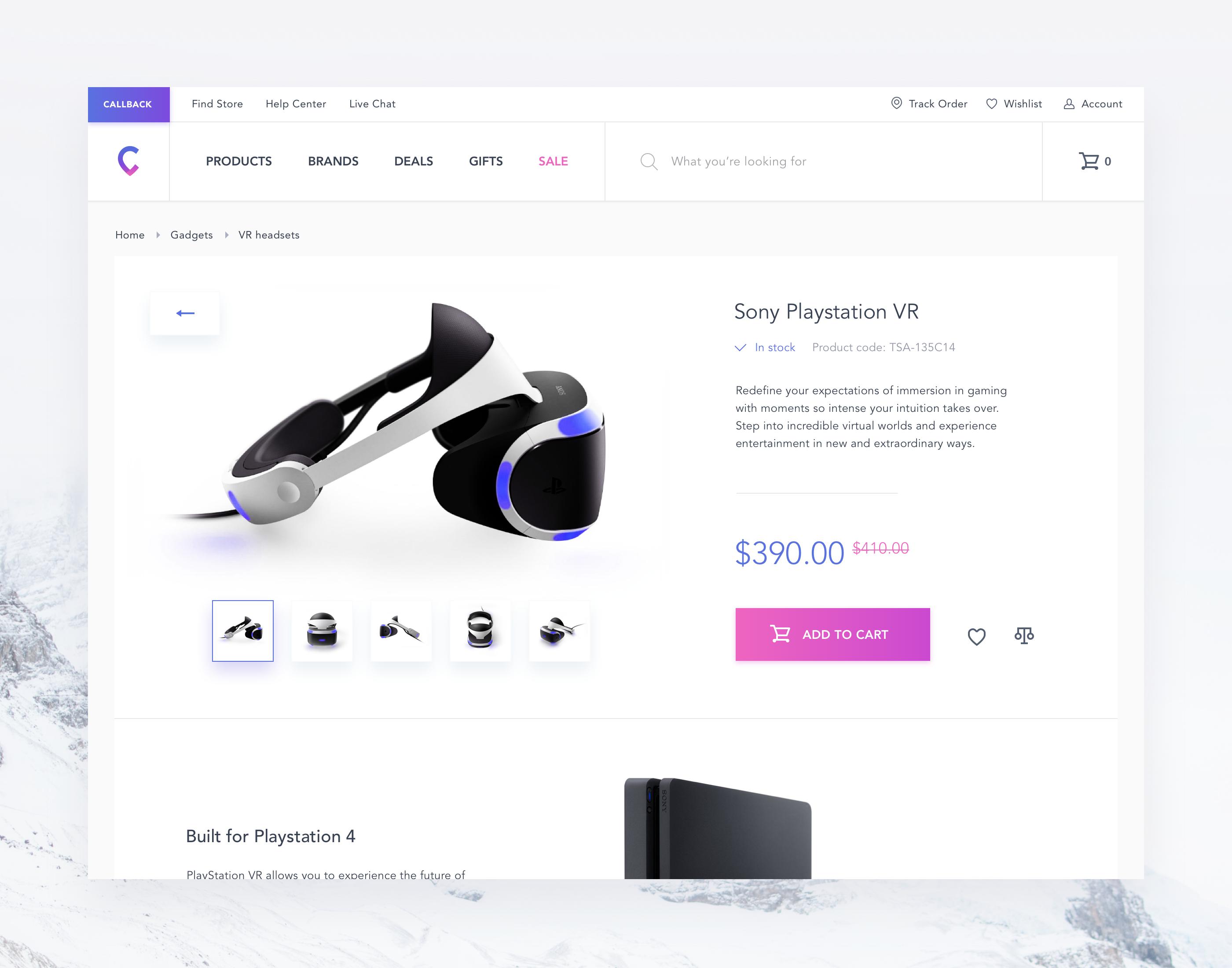 1b3779e81c4e E-commerce - Transition to a product page – Inspire Design| #ui #ux  #userexperience #website #webdesign #design #minimal #minimalism #art #white  #orange ...