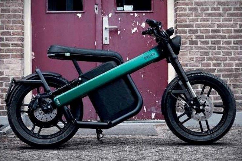 200 Kilometre Menzelli Elektrikli Motosiklet Brekr Model B