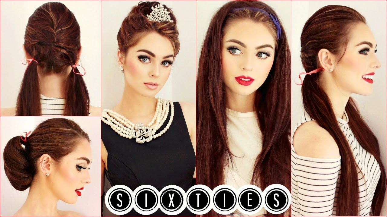 Easy & Cute 60's Hairstyles